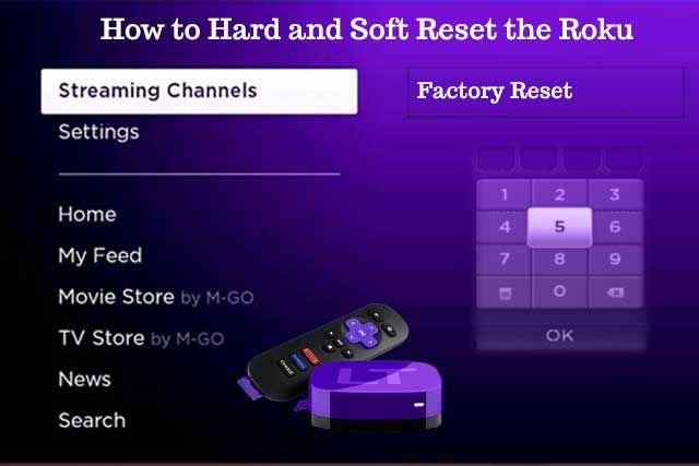 how to reset streaming device