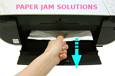 canon printer paper jam error