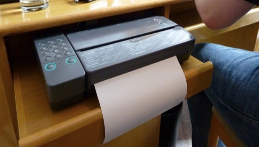 How to Fax from the printer