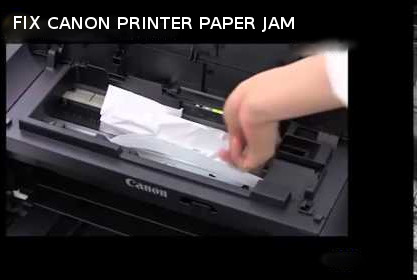How to Fix Canon Printer Paper Jam Error