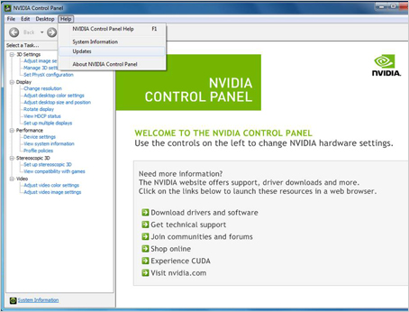 How to get NVIDIA Control Panel