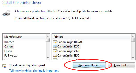 how install canon printer drivers