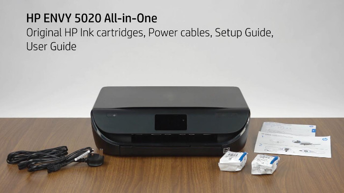 how to setup hp envy 5020 wireless printer