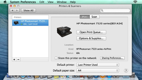 how to install printer on mac