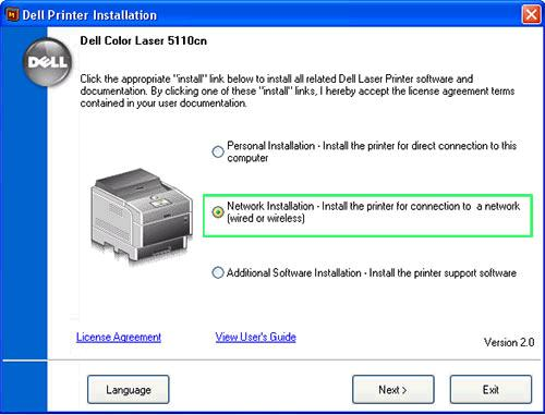 How to connect Dell printer to a wireless network