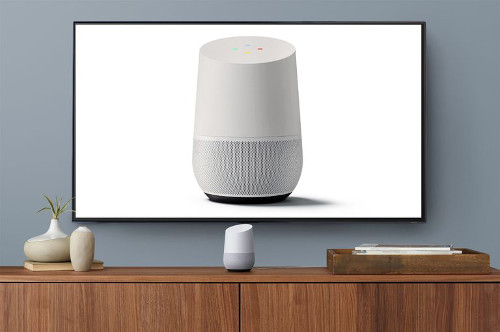 how to connect google home to tv