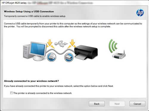How to Connect HP Officejet 4620 Wireless Printer Setup