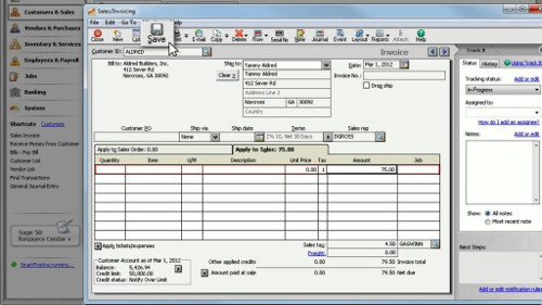 How to Print Invoices in Sage 50
