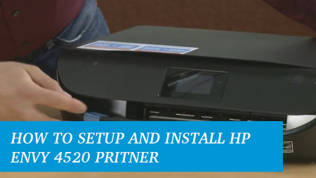 How to Install HP Envy 4520