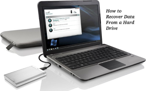 How to Recover Data From a Hard Drive