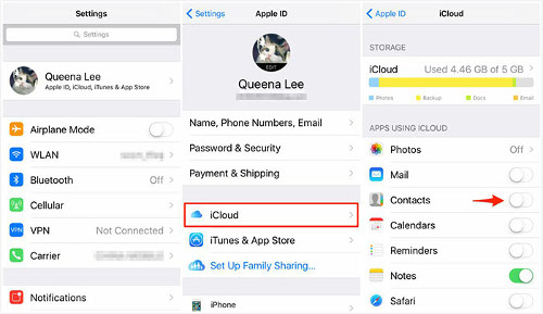 Merge Contacts Iphone Icloud