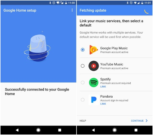 Google Home Devices Setup