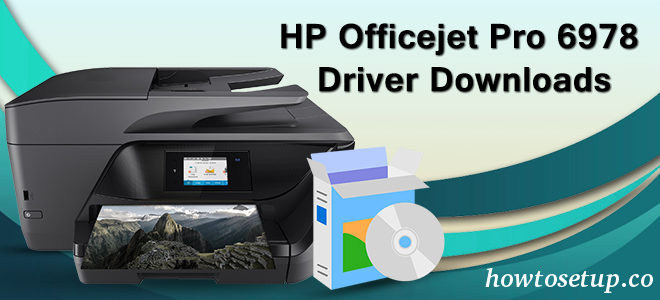 HP Officejet Pro 6978 Software Install