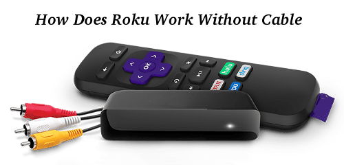 How Does Roku Work Without Cable