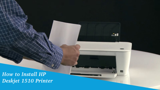 How to Install HP Deskjet 1510 Printer