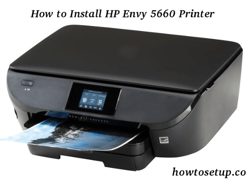 How to Install HP Envy 5660