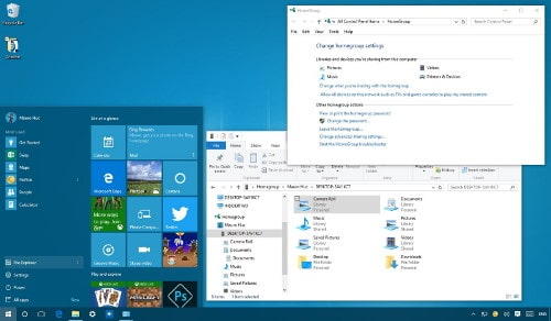 How to Set Up Homegroup Network in Windows 10 System