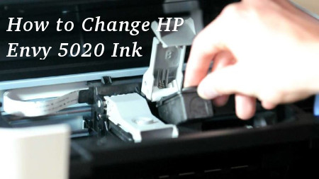 How to Change HP Envy 5020 Ink