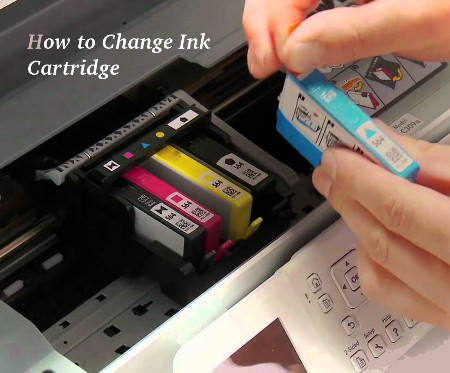 How to Change Ink Cartridge