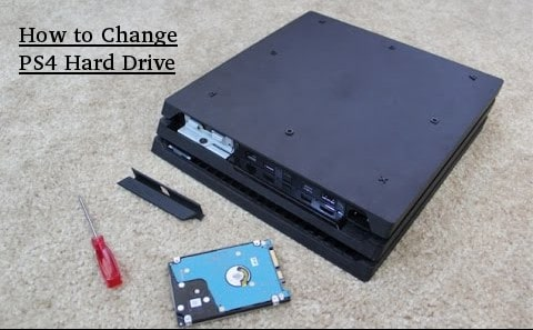 How to Change PS4 Hard Drive