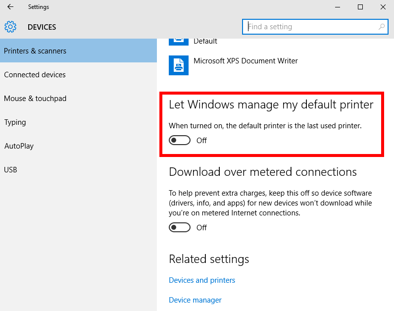 How to Change Printer to Default in Windows 10 Computer