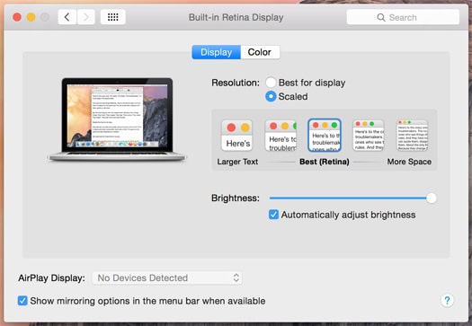 How to Change Screen Resolution on a MacBook Pro