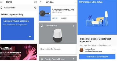 How to Connect Google Home to Chromecast