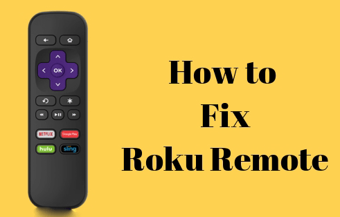 How to Fix the Roku Remote Problem