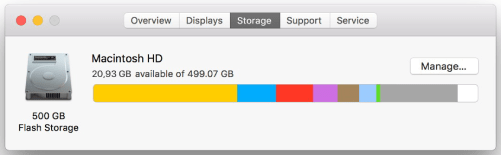 How To Free Up Space on Mac Startup Disk
