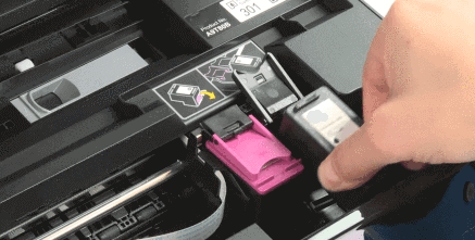 How to Install Ink Cartridges in HP Envy 5055 Printer