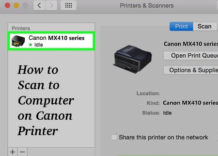 How to Scan to Computer on Canon Printer