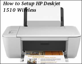 How to Setup HP Deskjet 1510 Wireless