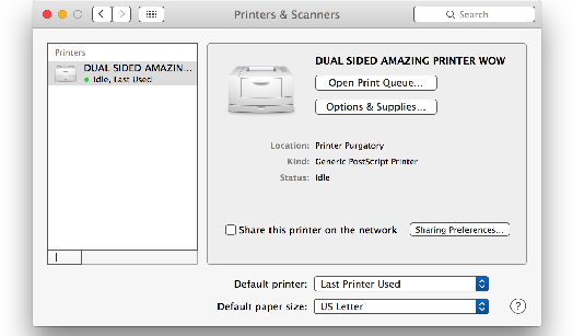 How to Enable Duplex Printing in Mac