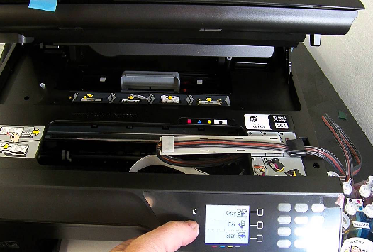Set Up the HP Officejet 4620 Wireless Printer