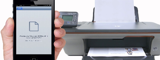 Connect to the Wireless Printer From iPhone