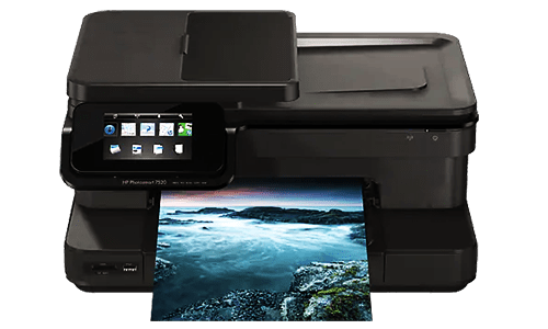 HP PhotoSmart 7520 printer setup