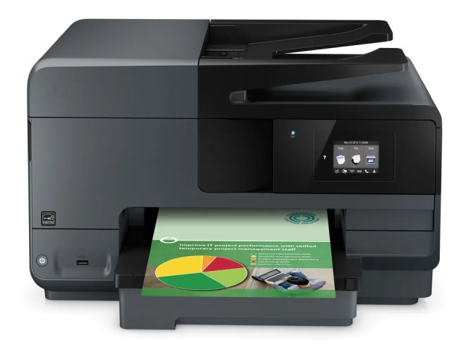 HP Officejet Pro 8610 Missing