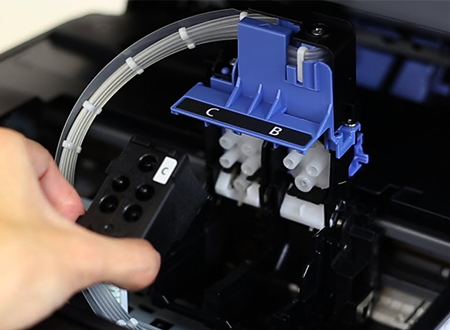 Steps to Installing the Print Heads