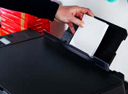 Steps to load paper