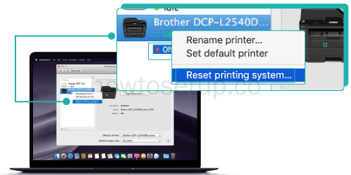 Brother Printer Not Connecting To Mac wireless