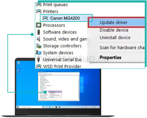 Canon Printer Device Manager
