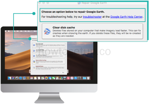 Google Earth Failed To Connect To Database Mac