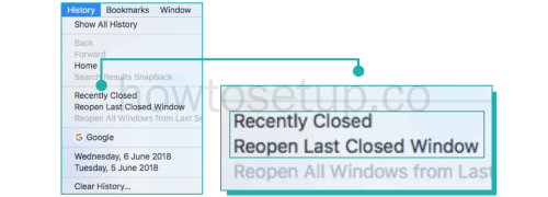 How To Delete Recently Closed Tabs