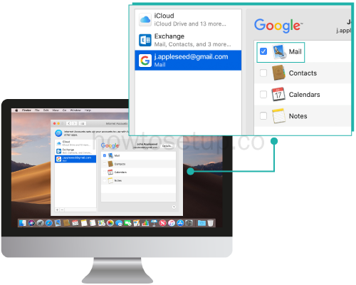 How To Setup Gmail In Mac Mail