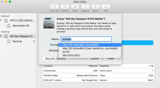how to use Wd my passport for Mac