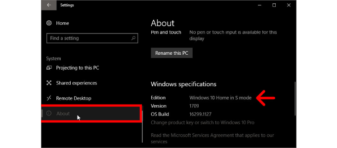 What Is Windows 10 S Mode And How Do You Turn It Off