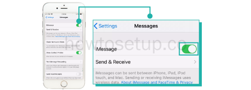 Connect iPhone messages to Mac