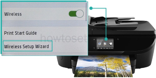 Where is the Wps Pin Located on My HP Printer