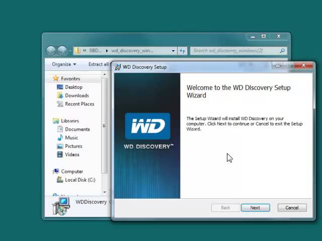 Install Discovery For Windows WD