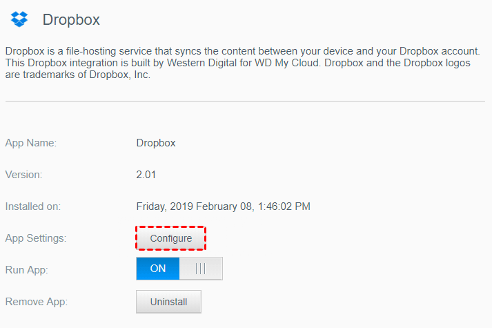 How To Sync WD My Cloud With Dropbox